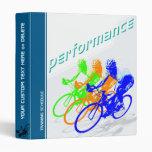 """Cyclist Training Schedule 1"""" Binder"""