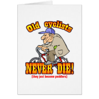 Cyclists Card