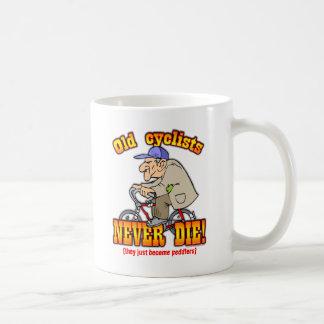 Cyclists Classic White Coffee Mug
