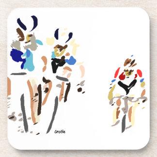 Cyclists Coaster