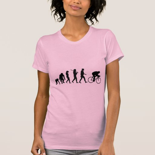 Cyclists Cycling evolution Bicycle Riders Shirt