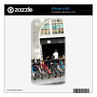 Cyclists Decals For The iPhone 4