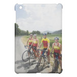 Cyclists posing on country road case for the iPad mini