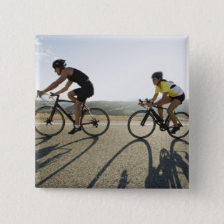 Cyclists road riding in Malibu Button
