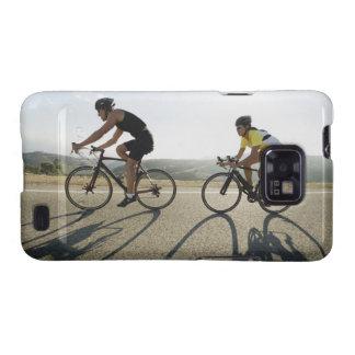 Cyclists road riding in Malibu Samsung Galaxy SII Case