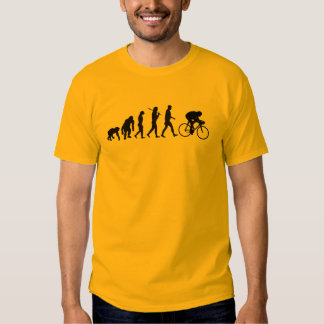 Cyclists Yellow Jersey Cycling Evolution Shirts