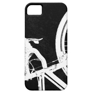 Cyclocross - CX - blanco en negro Funda Para iPhone SE/5/5s