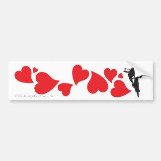 Cyclocross (CX) Love Car Bumper Sticker