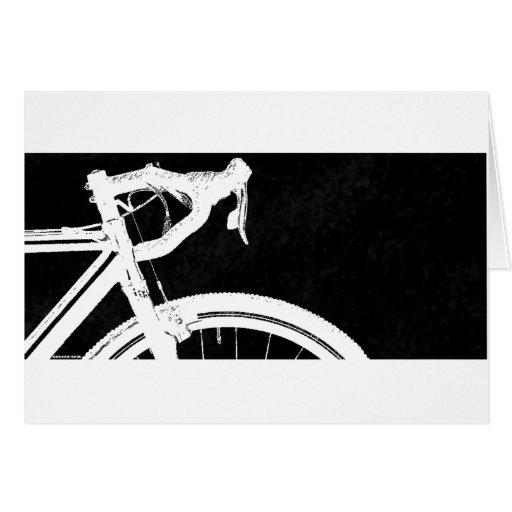 Cyclocross Tarjeta De Felicitación