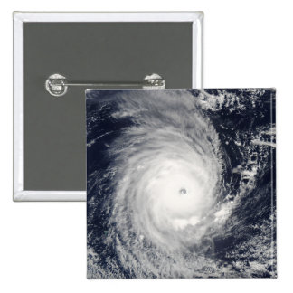 Cyclone Adeline-Juliet moving west 2 Inch Square Button