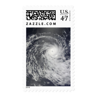 Cyclone Anja over the Southern Indian Ocean Postage Stamp
