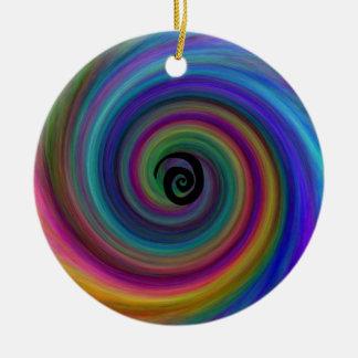 Cyclone Ceramic Ornament