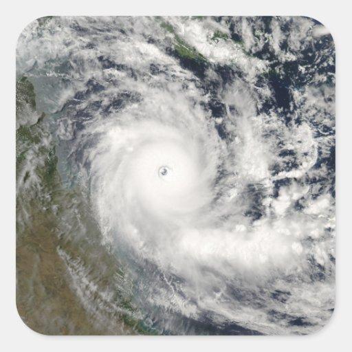 Cyclone Ingrid Square Sticker