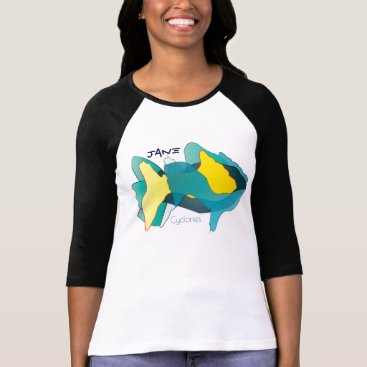 Beach Themed Cyclone Jane T-Shirt