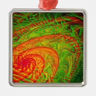Cyclone Metal Ornament