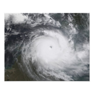 Cyclone Monica in the south Pacific Ocean Photo Print