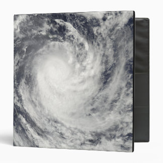 Cyclone Rene over the South Pacific Ocean 3 Ring Binder