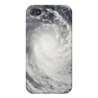 Cyclone Rene over the South Pacific Ocean iPhone 4/4S Cover
