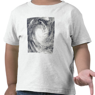 Cyclone Rene over the South Pacific Ocean Tshirts