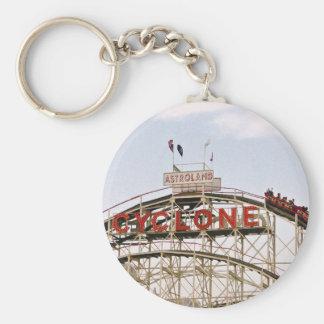 Cyclone Roller Coaster - Coney Island keychain
