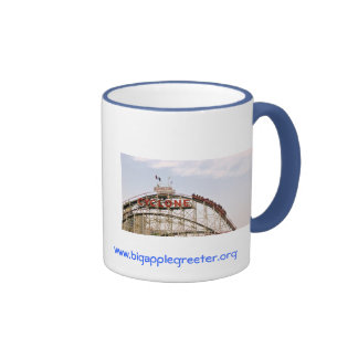Cyclone Roller Coaster - Coney Island, NYC mug