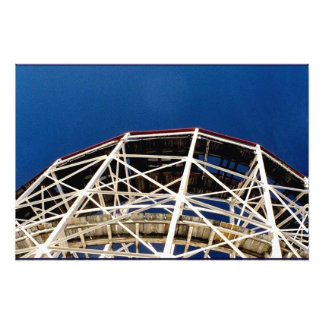 'Cyclone Rollercoaster' Photographic Print