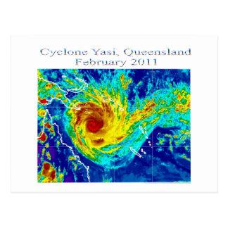 Cyclone Yasi 2, Queensland, February 2011 Postcard