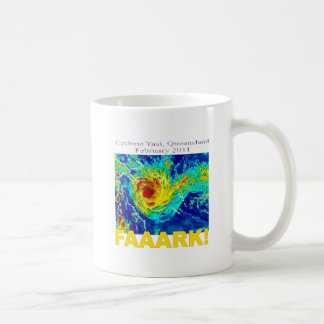 Cyclone Yasi, Queensland, February 2011 Coffee Mug