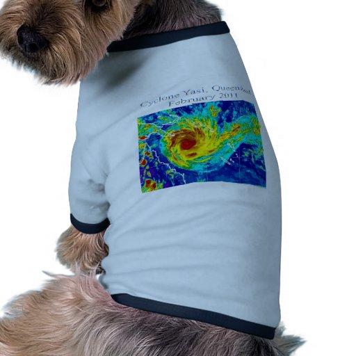 Cyclone Yasi, Queensland, February 2011 Doggie T Shirt