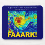 Cyclone Yasi, Queensland, February 2011 Mouse Pad