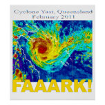 Cyclone Yasi, Queensland, February 2011 Posters
