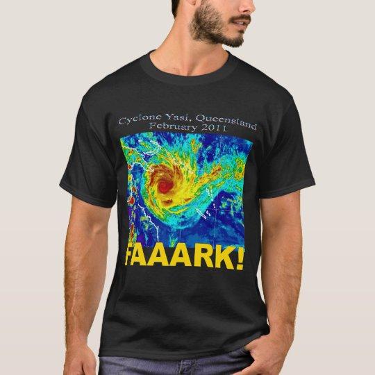 Cyclone Yasi, Queensland, February 2011 T-Shirt