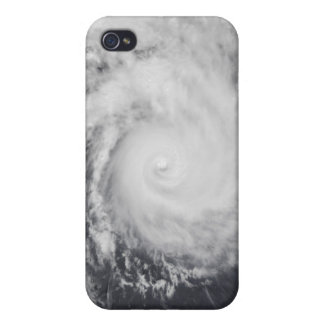 Cyclone Zoe in the South Pacific Ocean iPhone 4 Cover