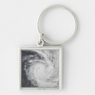Cyclone Zoe in the South Pacific Ocean Keychain