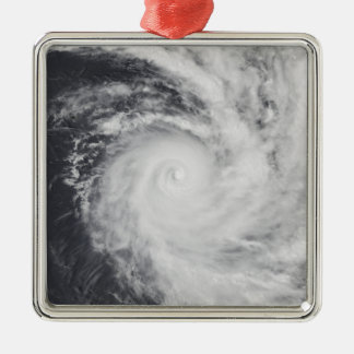 Cyclone Zoe in the South Pacific Ocean Metal Ornament