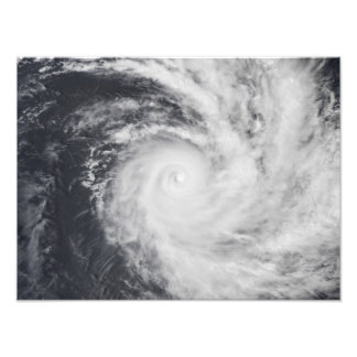 Cyclone Zoe in the South Pacific Ocean Photo Print