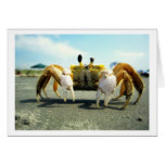 Cyclops Crabby Greeting Cards
