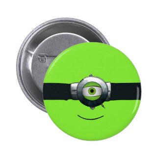 Cyclops goggled eye button