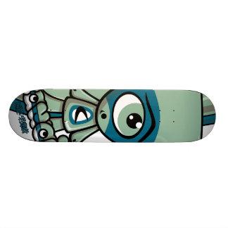 Cyclops Mascot Skate Board