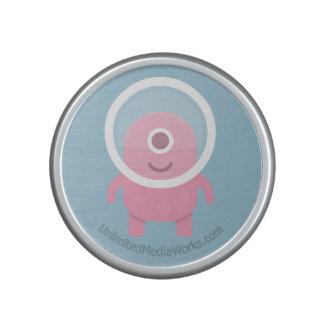 Cyclops rosados lindos extranjeros altavoz