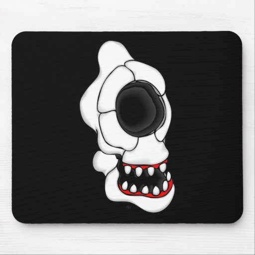 CYCLOPS SKULL 1 MOUSE PAD
