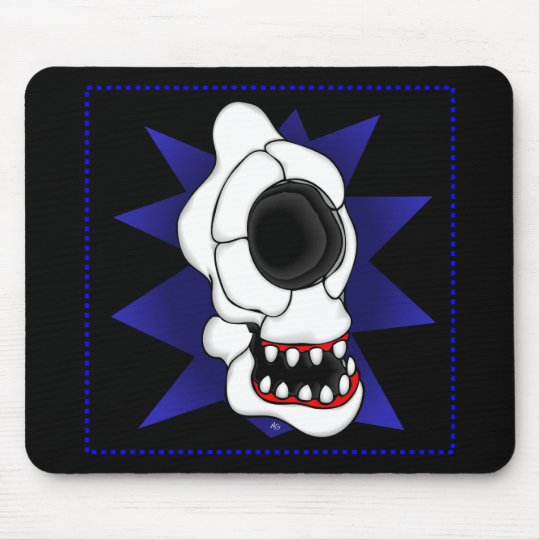 CYCLOPS SKULL 5s Mouse Pad