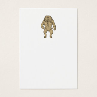 Cyclops Standing Drawing Business Card
