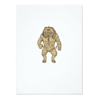 Cyclops Standing Drawing Card