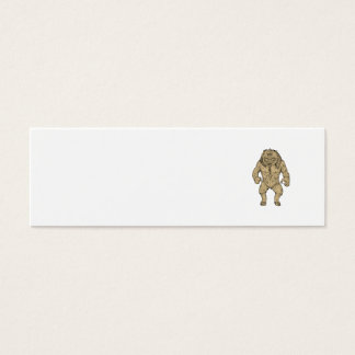 Cyclops Standing Drawing Mini Business Card