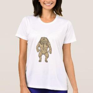 Cyclops Standing Drawing T-Shirt