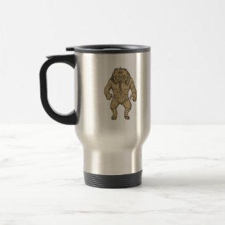 Cyclops Standing Drawing Travel Mug