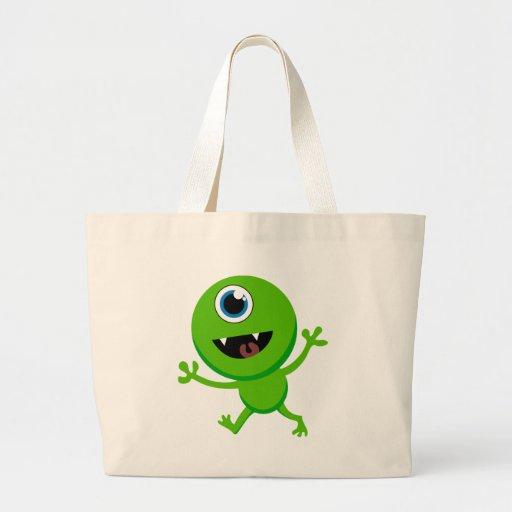 Cyclops verdes del bebé bolsa