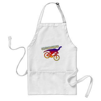 Cyclosaurus Rex Bicycle Enthusiast Adult Apron
