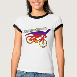 Cyclosaurus Rex Bicycle Enthusiast T-Shirt